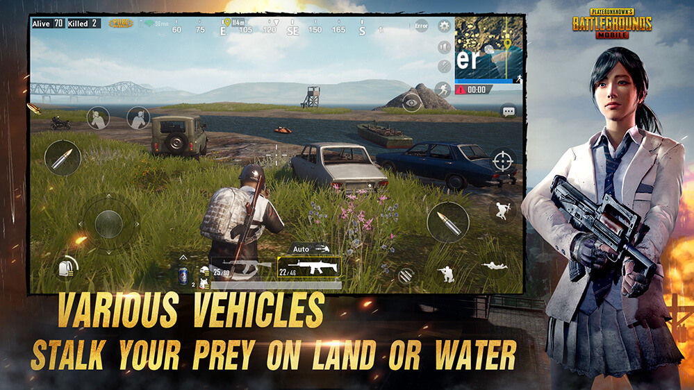 Official Pubg On Mobile - live